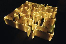 Licht-Labyrinth