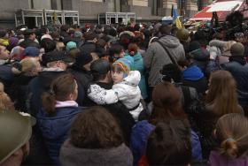 Kiew – auf den Barrikade 2
