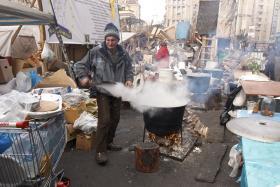Kiew – auf den Barrikaden 4