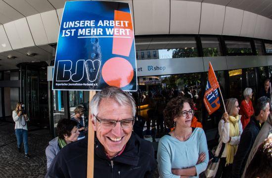 bayerischer rundfunk streik