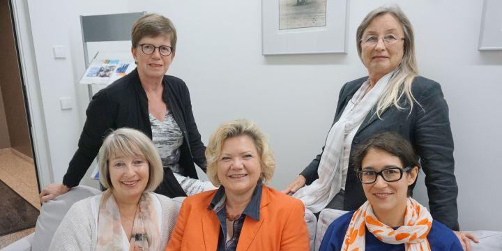 Vorstand der BJV-Fachgruppe Chancengleichheit