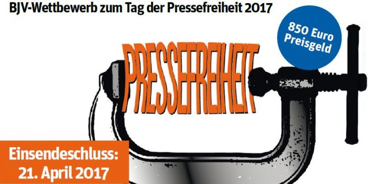 BJV-Wettbewerb zum Tag der Pressefreiheit 2017