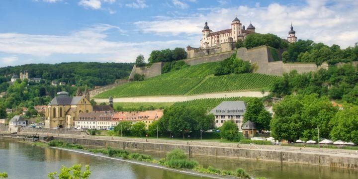 Würzburger Festung im Sommer 2017
