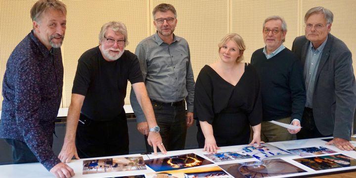 Jury des BJV-Wettbewerbs Pressefoto Bayern 2018