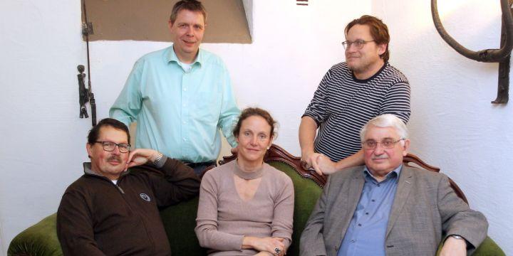 BJV-Bezirksvorstand Augsburg - Schwaben - Alois Knoller, Ulf Vogler, Miriam Leunissen, Stefan Puchner und Sepp Steinbrenner