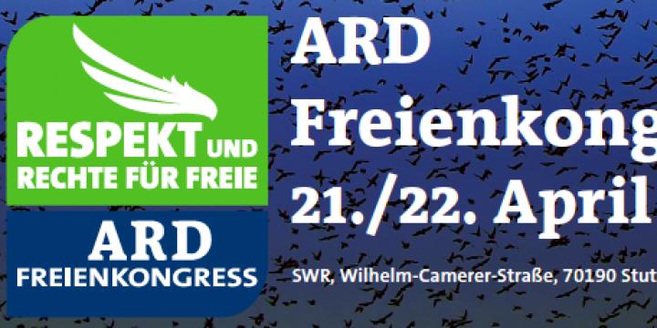 Ausriss aus dem Programm-Flyer zum ARD Freienkongress