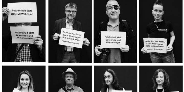 DJV-Aktion Aufruf für Fotofreiheit