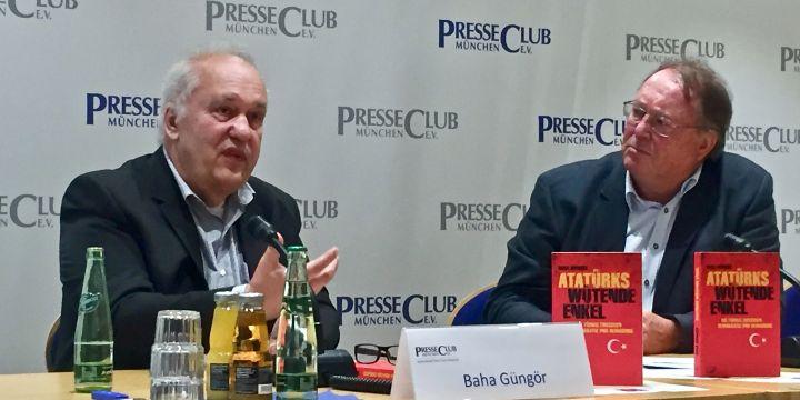 Baha Güngör und Thomas Morawski bei der Türkei-Diskussion am 28.06.2018 im Münchner Presseclub