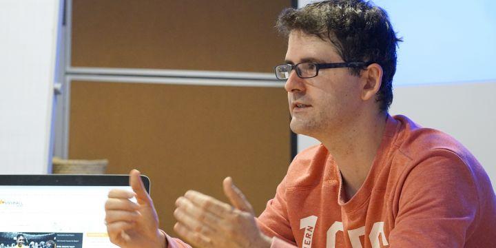 Daniel Michel, Fussball.news, erklärt sein Web-Angebot