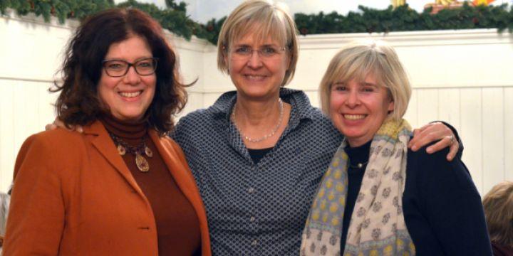Gruppenbild eines Erfolgsteams mit Marion Trutter, Karin Hertzer und Lisa Hilbich