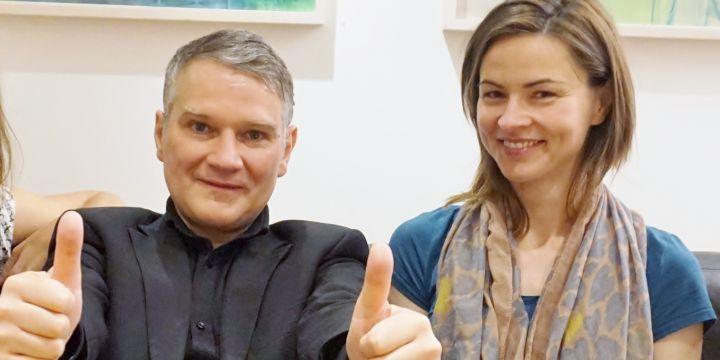 Vorstand der BJV-Fachgruppe Rundfunk mit Harald Stocker und Sabine Prokscha