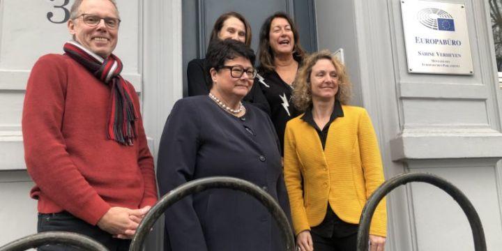 DJV-Europakommission trifft Sabine Verheyen, MdEP
