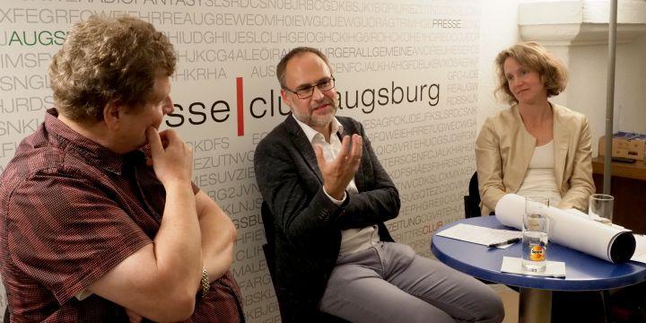 BJV-Gesprächsrunde zum Konstruktiven Journalismus im Presseclub Augsburg