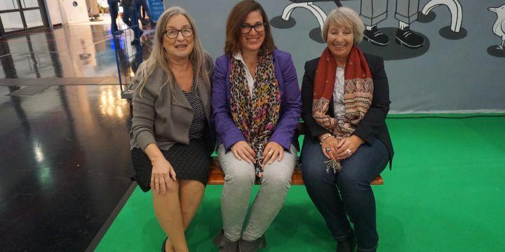Vorstand der BJV-Fachgruppe Chancengleichheit am 24.10.2018
