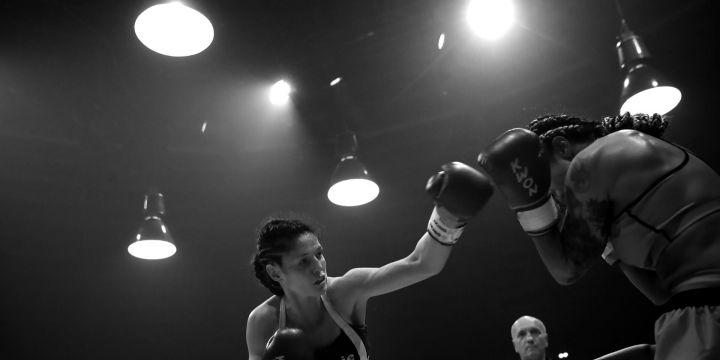 Die Kickboxerin