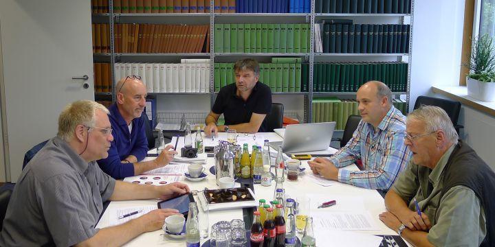 Vorstand der Fachgruppe Bild im BJV