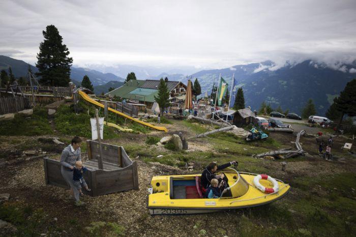Massentourismus in den Alpen